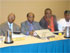 L-R: National Auditor, Cross-Section of Chapter Presidents