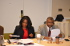 Council Meeting: L-R: Madam Obot Okoko (BOT Secretary), Mr. Edem Andy (BOT Member)