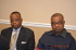 Council Meeting: L-R: Mr. Ani Edohoukwa (AKISAN Dallas Metro) Dr. Augustine Ekwere (AKISAN Northern New Jersey)
