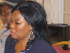 Foreground: Ms. Obot Okoko (Member, BOT).  Background: Mkpisong Eyobong Usanga (Member, BOT)